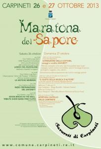 maratona del sapore carpineti